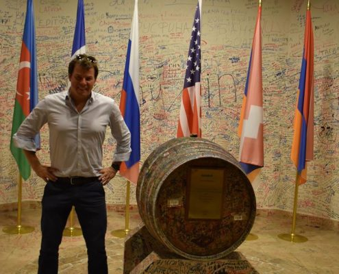 THE CHAIRMAN OF AMCHAMS IN EUROPE VISITS ARMENIA