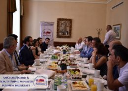 AMCHAM BOARD HELD A BREAKFAST MEETING WITH DEPUTY PRIME MINISTER