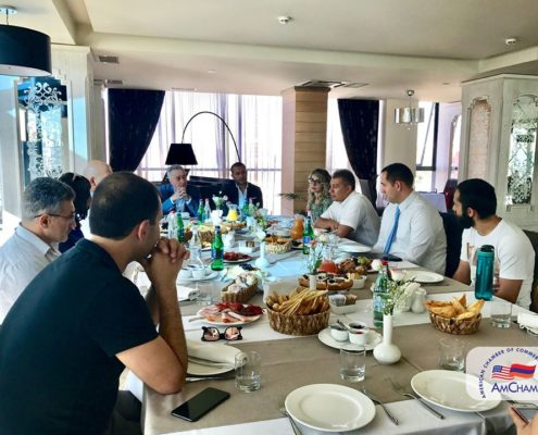 AMCHAM CONTINUES ITS GM BREAKFAST MEETINGS