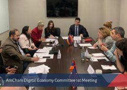 AmCham Digital Economy Comittee 1st Meeting