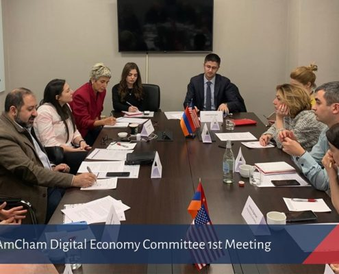 AmCham Digital Economy Comittee 1st Meeting