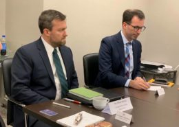 Board Meeting with Mr. Mihail Seroka, Desk Officer, US Department of State
